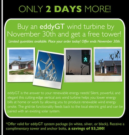 wind turbine sale
