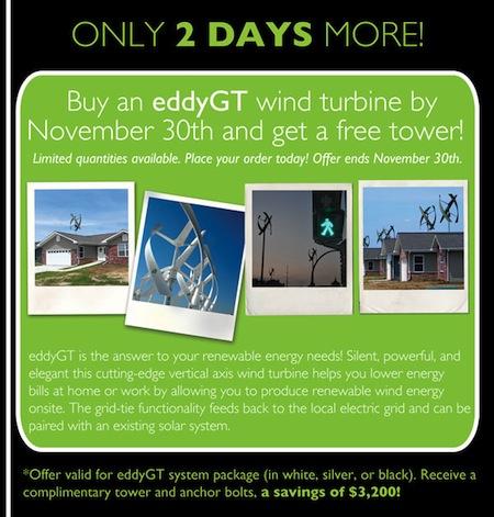wind turbine sale